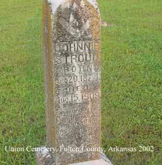 STROUD, JOHNNIE - Fulton County, Arkansas | JOHNNIE STROUD - Arkansas Gravestone Photos