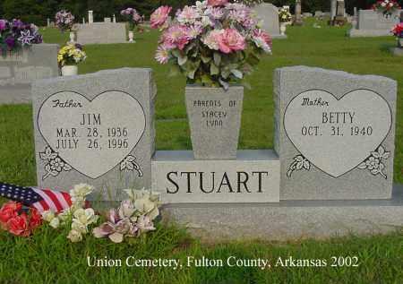 "STUART, JIMMY RAY ""JIM"" - Fulton County, Arkansas | JIMMY RAY ""JIM"" STUART - Arkansas Gravestone Photos"