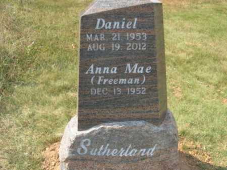 SUTHERLAND, DANIEL - Fulton County, Arkansas   DANIEL SUTHERLAND - Arkansas Gravestone Photos