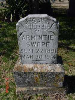 SWOPE, ARMINTIE - Fulton County, Arkansas | ARMINTIE SWOPE - Arkansas Gravestone Photos