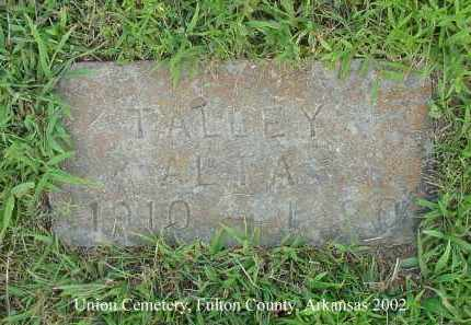 TALLEY, ALTA - Fulton County, Arkansas | ALTA TALLEY - Arkansas Gravestone Photos