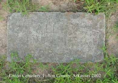 TALLEY, INFANT - Fulton County, Arkansas | INFANT TALLEY - Arkansas Gravestone Photos