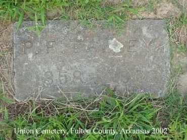 TALLEY, PLEASANT FINLEY - Fulton County, Arkansas | PLEASANT FINLEY TALLEY - Arkansas Gravestone Photos