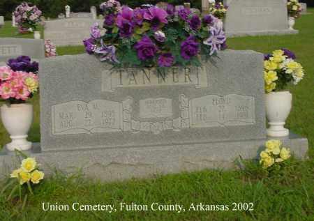 TANNER, FLOYD - Fulton County, Arkansas | FLOYD TANNER - Arkansas Gravestone Photos