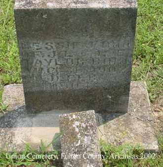 TAYLOR, BESSIE J. - Fulton County, Arkansas | BESSIE J. TAYLOR - Arkansas Gravestone Photos