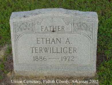 TERWILLIGER, ETHAN A. - Fulton County, Arkansas | ETHAN A. TERWILLIGER - Arkansas Gravestone Photos