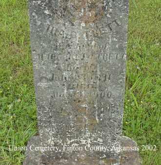 TRETT, IRA G. - Fulton County, Arkansas | IRA G. TRETT - Arkansas Gravestone Photos