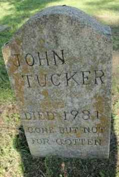 TUCKER, JOHN - Fulton County, Arkansas | JOHN TUCKER - Arkansas Gravestone Photos