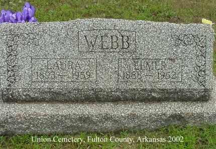 WEBB, ELMER S. - Fulton County, Arkansas | ELMER S. WEBB - Arkansas Gravestone Photos