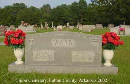 SPICER WEBB, EFFIE ANN ELIZABETH - Fulton County, Arkansas   EFFIE ANN ELIZABETH SPICER WEBB - Arkansas Gravestone Photos