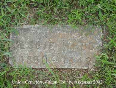 WEBB, JESSIE - Fulton County, Arkansas | JESSIE WEBB - Arkansas Gravestone Photos
