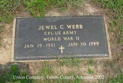 WEBB  (VETERAN WWII), JEWEL CONDON - Fulton County, Arkansas | JEWEL CONDON WEBB  (VETERAN WWII) - Arkansas Gravestone Photos