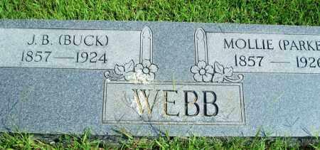 WEBB, JAMES BUCHANAN - Fulton County, Arkansas | JAMES BUCHANAN WEBB - Arkansas Gravestone Photos