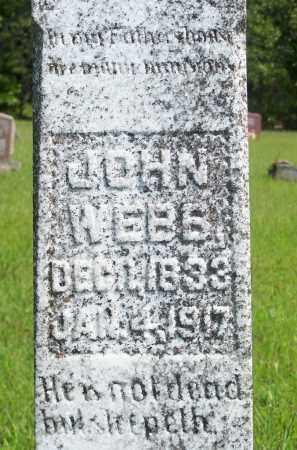 WEBB, JOHN - Fulton County, Arkansas | JOHN WEBB - Arkansas Gravestone Photos