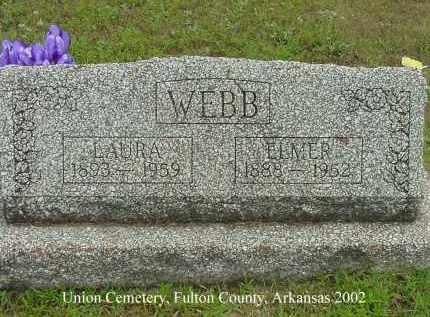 WEBB, LAURA - Fulton County, Arkansas | LAURA WEBB - Arkansas Gravestone Photos