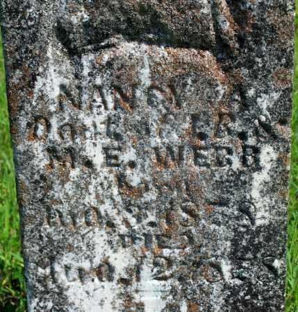 WEBB, NANCY - Fulton County, Arkansas | NANCY WEBB - Arkansas Gravestone Photos
