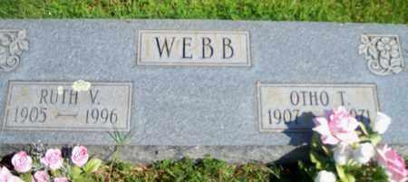 WEBB, RUTH V. - Fulton County, Arkansas | RUTH V. WEBB - Arkansas Gravestone Photos