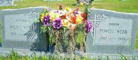 WEBB, POWELL - Fulton County, Arkansas | POWELL WEBB - Arkansas Gravestone Photos