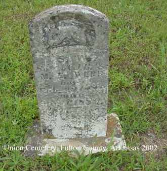 WEBB, S. W. - Fulton County, Arkansas   S. W. WEBB - Arkansas Gravestone Photos