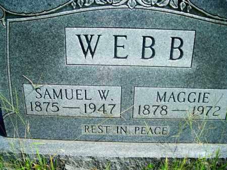 WEBB, MAGGIE - Fulton County, Arkansas | MAGGIE WEBB - Arkansas Gravestone Photos