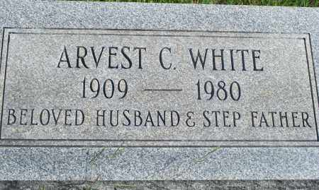 WHITE, ARVEST C. - Fulton County, Arkansas | ARVEST C. WHITE - Arkansas Gravestone Photos