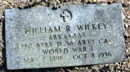 WILKEY (VETERAN WWI), WILLIAM R - Fulton County, Arkansas | WILLIAM R WILKEY (VETERAN WWI) - Arkansas Gravestone Photos