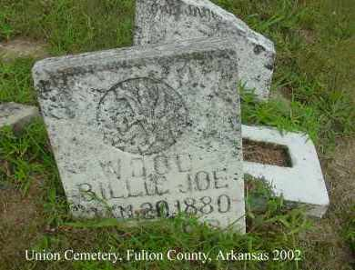 WOOD, BILLIE JOE - Fulton County, Arkansas | BILLIE JOE WOOD - Arkansas Gravestone Photos