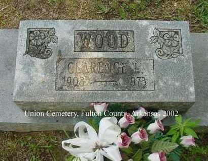WOOD, CLARENCE L. - Fulton County, Arkansas   CLARENCE L. WOOD - Arkansas Gravestone Photos