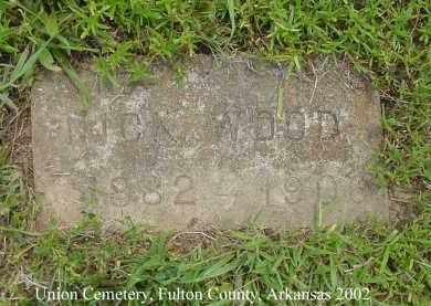 WOOD, NICK - Fulton County, Arkansas | NICK WOOD - Arkansas Gravestone Photos