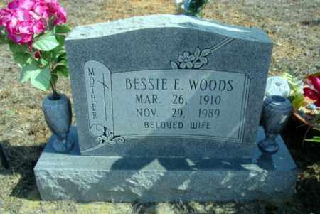 WOODS, BESSIE E. - Fulton County, Arkansas | BESSIE E. WOODS - Arkansas Gravestone Photos
