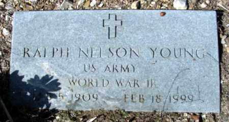 YOUNG (VETERAN WWII), RALPH NELSON - Fulton County, Arkansas   RALPH NELSON YOUNG (VETERAN WWII) - Arkansas Gravestone Photos