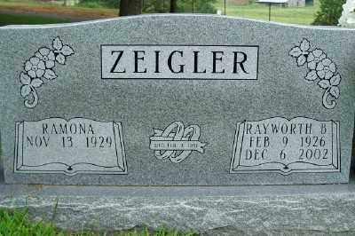 ZEIGLER, RAYWORTH (RAY) - Fulton County, Arkansas | RAYWORTH (RAY) ZEIGLER - Arkansas Gravestone Photos