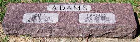 ADAMS, LOSS - Garland County, Arkansas | LOSS ADAMS - Arkansas Gravestone Photos