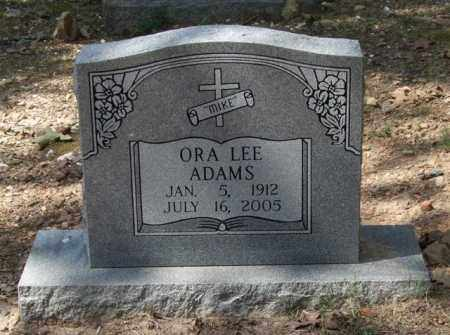 ADAMS, ORA LEE - Garland County, Arkansas | ORA LEE ADAMS - Arkansas Gravestone Photos