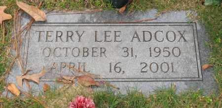 ADCOX, TERRY LEE - Garland County, Arkansas   TERRY LEE ADCOX - Arkansas Gravestone Photos