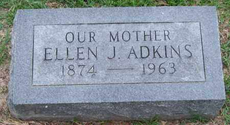 ADKINS, ELLEN J. - Garland County, Arkansas | ELLEN J. ADKINS - Arkansas Gravestone Photos