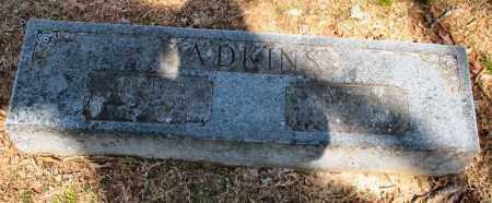 ADKINS, SALLY M. - Garland County, Arkansas   SALLY M. ADKINS - Arkansas Gravestone Photos