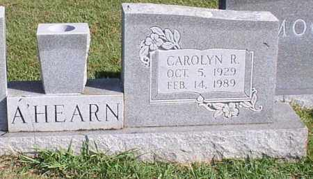 A'HEARN, CAROLYN R. - Garland County, Arkansas | CAROLYN R. A'HEARN - Arkansas Gravestone Photos
