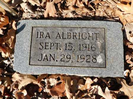 ALBRIGHT, IRA - Garland County, Arkansas | IRA ALBRIGHT - Arkansas Gravestone Photos
