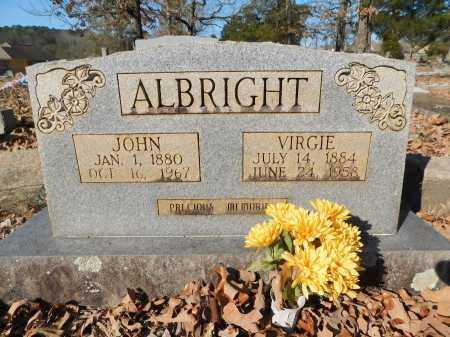 ALBRIGHT, JOHN - Garland County, Arkansas | JOHN ALBRIGHT - Arkansas Gravestone Photos