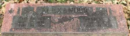 ALEXANDER, GEORGE IRA - Garland County, Arkansas | GEORGE IRA ALEXANDER - Arkansas Gravestone Photos