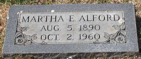 ALFORD, MARTHA E. - Garland County, Arkansas | MARTHA E. ALFORD - Arkansas Gravestone Photos