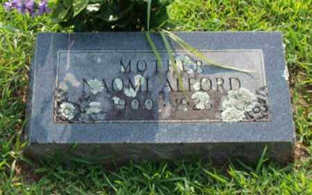 ALFORD, NAOMI - Garland County, Arkansas | NAOMI ALFORD - Arkansas Gravestone Photos