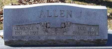 ALLEN, RUBY F. - Garland County, Arkansas   RUBY F. ALLEN - Arkansas Gravestone Photos