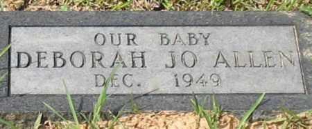 ALLEN, DEBORAH JO - Garland County, Arkansas | DEBORAH JO ALLEN - Arkansas Gravestone Photos
