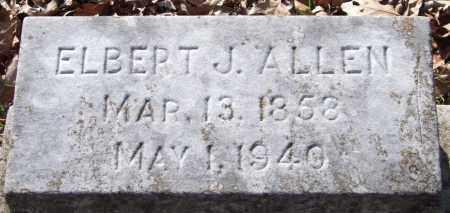 ALLEN, ELBERT J. - Garland County, Arkansas | ELBERT J. ALLEN - Arkansas Gravestone Photos