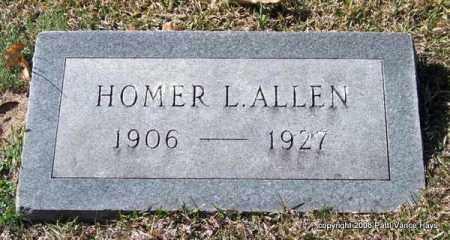 ALLEN, HOMER L. - Garland County, Arkansas | HOMER L. ALLEN - Arkansas Gravestone Photos