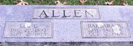 ALLEN, BARBARA B. - Garland County, Arkansas | BARBARA B. ALLEN - Arkansas Gravestone Photos