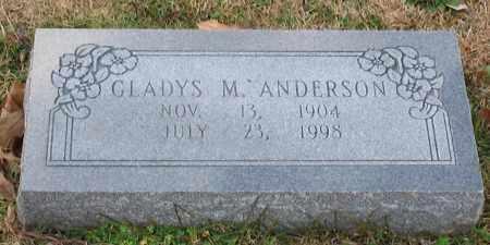 ANDERSON, GLADYS M. - Garland County, Arkansas | GLADYS M. ANDERSON - Arkansas Gravestone Photos