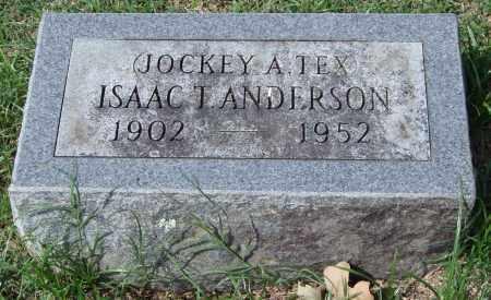 ANDERSON, ISAAC T. - Garland County, Arkansas | ISAAC T. ANDERSON - Arkansas Gravestone Photos